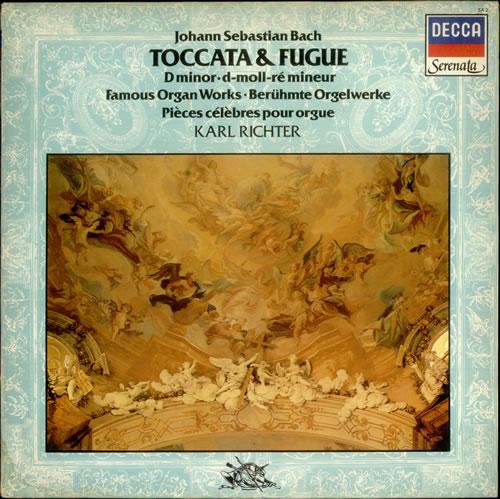 Karl richter - bach: cantatas 56  82 - lp