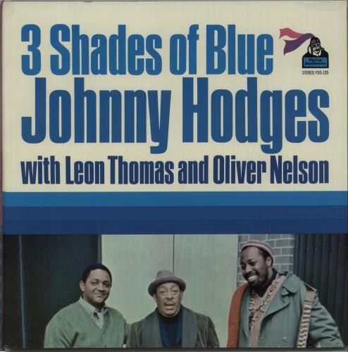 HODGES, JOHNNY - 3 Shades Of Blues - 1st - Maxi 33T