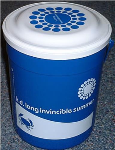 LANG, K.D. - Invincible Summer Plastic Bucket - Autres