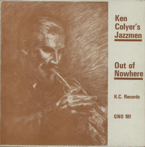 COLYER, KEN - Out Of Nowhere - Maxi 33T