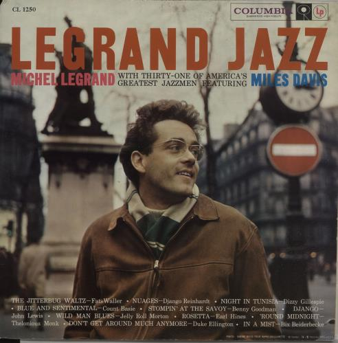 LEGRAND, MICHEL - Legrand Jazz - Six eye promo - Maxi 33T