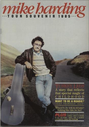 HARDING, MIKE - Tour Souvenir 1985 - Autres