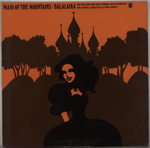 WILLIAMS & BAGNALL - Maid Of The Mountains / Balalaika - Maxi 33T