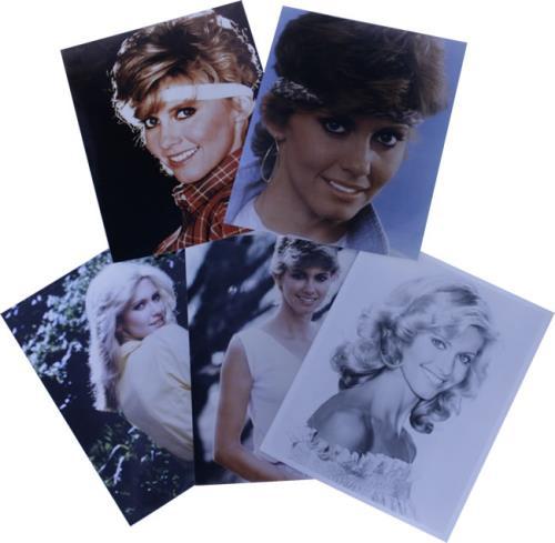 NEWTON JOHN, OLIVIA - Collection Of Five Promotional Photographs - Autres