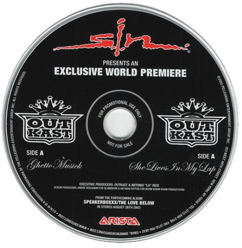 OutKast - Ghetto Musick - She Lives In My Lap