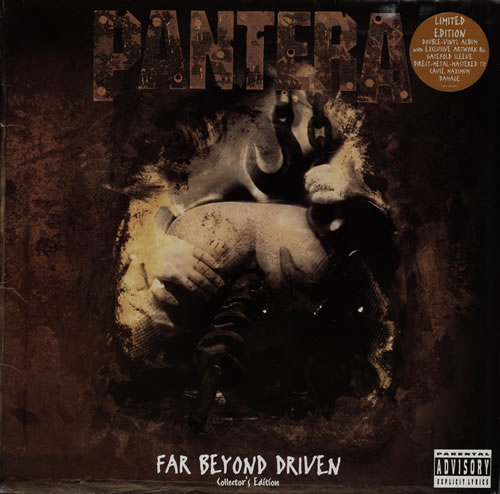 pantera far beyond driven cover - photo #20