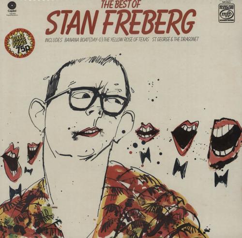 FREBERG, STAN - The Best Of - Maxi 33T