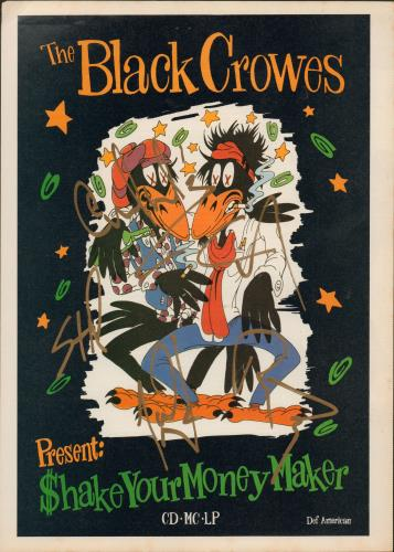 black crowes shake your money maker video