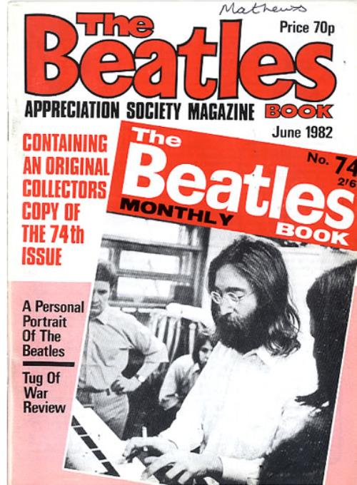BEATLES, THE - The Beatles Book No. 74 - 2nd - Autres