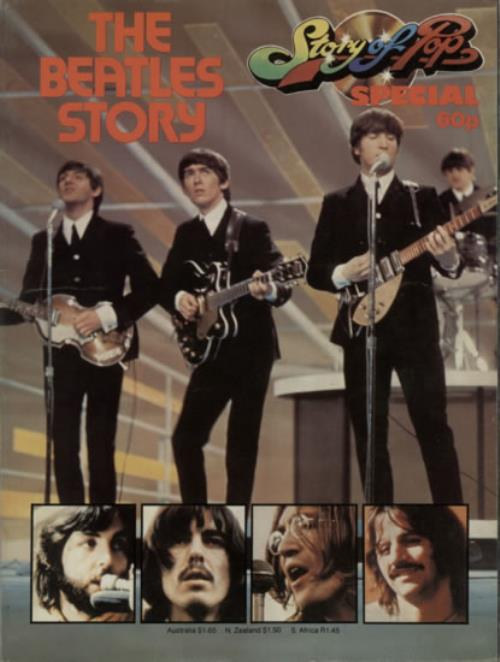 BEATLES, THE - The Beatles Story - Livre