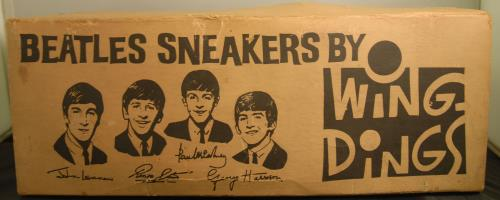 BEATLES, THE - Wing Ding Sneakers - White - Size 10 - Autres