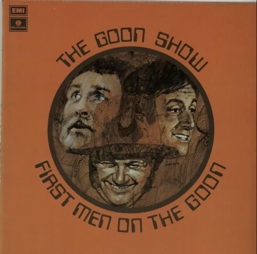THE GOONS - First Men On The Goon - Maxi 33T