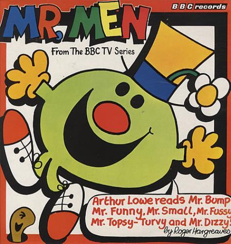 MR. MEN, THE - Mr Men - Maxi 33T