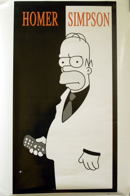 SIMPSONS - Homer Simpson - Poster / Affiche