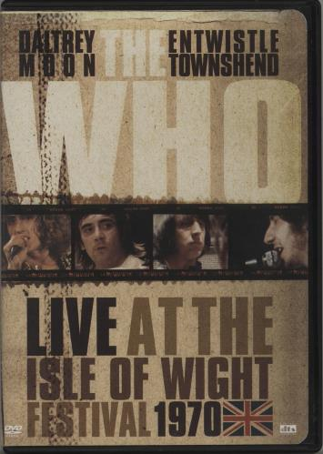 WHO - Live At The Isle Of Wight Festival 1970 - DVD