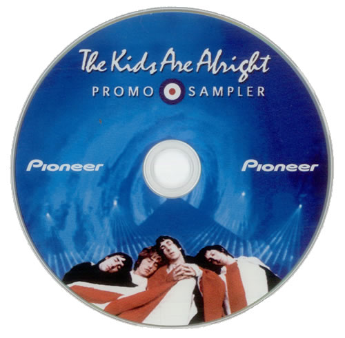 WHO - The Kids Are Alright Promo Sampler - DVD