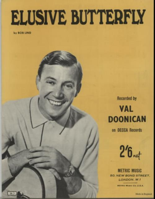 DOONICAN, VAL - Elusive Butterfly - Autres