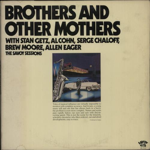 VARIOUS - JAZZ - Brothers And Other Mothers - Maxi 33T