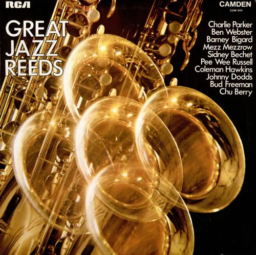 VARIOUS - JAZZ - Great Jazz Reeds - Maxi 33T