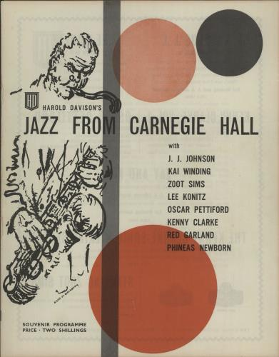 VARIOUS - JAZZ - Jazz From Carnegie Hall - Autres