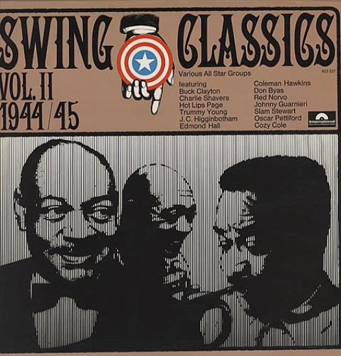 VARIOUS - JAZZ - Swing Classics Vol II 1944/45 - Maxi 33T