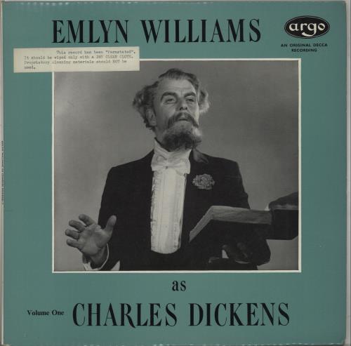 VARIOUS-SPOKEN WORD & POETRY - Emlyn Williams As Charles Dickens, Volumes 1 & 2 - Maxi 33T