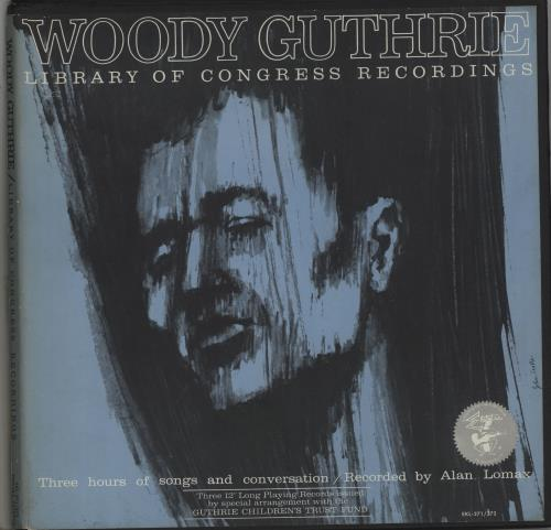 GUTHRIE, WOODY - Library Of Congress Recordings - Autres