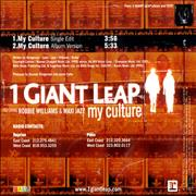 Click here for more info about '1 Giant Leap - My Culture'