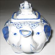 Click here for more info about '10,000 Maniacs - Blind Man's Zoo - Promotional Elephant Teapot'