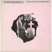 10,000 Maniacs Human Conflict Number Five - Ex UK vinyl LP
