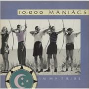 10,000 Maniacs In My Tribe UK vinyl LP