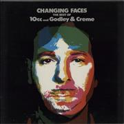 10cc Changing Faces - The Best Of 10cc And Godley & Creme UK vinyl LP