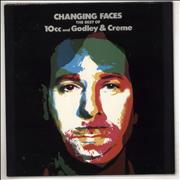 10cc Changing Faces - The Best Of 10cc And Godley & Creme Canada vinyl LP