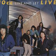 Click here for more info about '10cc - Live And Let Live - EX'