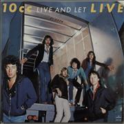 Click here for more info about '10cc - Live And Let Live'
