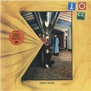10cc Sheet Music - Stickered Sleeve UK vinyl LP