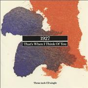 Click here for more info about '1927 - That's When I Think Of You'