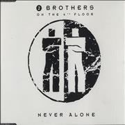 Click here for more info about '2 Brothers On The Floor - Never Alone'