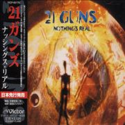 21 Guns Nothing's Real Japan CD album