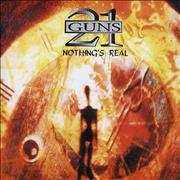 21 Guns Nothing's Real UK CD album