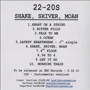 Click here for more info about 'Shake, Shiver, Moan + Instrumental'