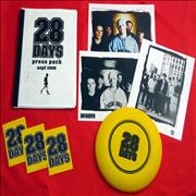 Click here for more info about '28 Days - Press Pack, Photo's, Frisbee & Stickers'