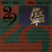 Click here for more info about 'Teddy's Song... [What About You?] - 7