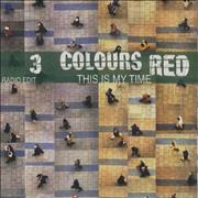 Click here for more info about '3 Colours Red - This Is My Time'