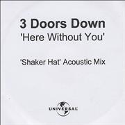 Click here for more info about '3 Doors Down - Here Without You - Shaker Hat Acoustic Mix'