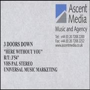 Click here for more info about '3 Doors Down - Here Without You'