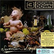 Click here for more info about '3 Doors Down - Seventeen Days [UK Bonus Edition]'