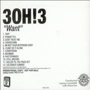 Click here for more info about '30H!3 - Want + Instrumental Album'