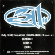 Click here for more info about '311 - Radio Friendly Clean Versions'
