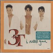 Click here for more info about '3T - I Need You'